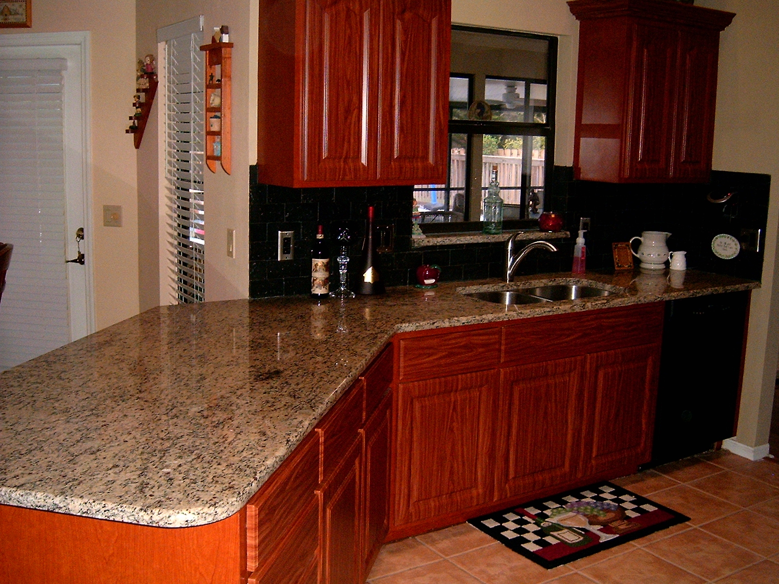 Cherry Cabinets Palm Bay FL Countertops